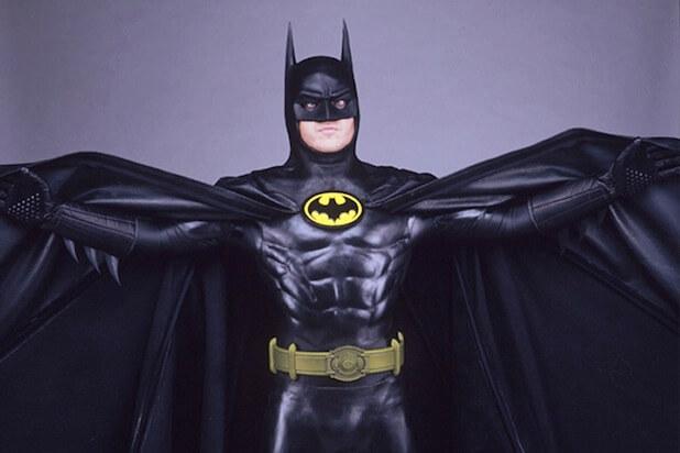 米高基頓在扮演蝙蝠俠時身著的戲服。