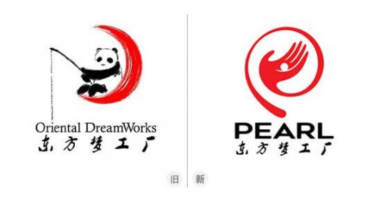 中國動畫公司「東方夢工廠」Logo。