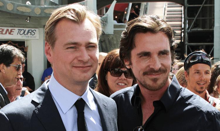 《黑暗騎士》三部曲好搭檔:導演克里斯多福諾蘭以及「蝙蝠俠」克里斯汀貝爾。