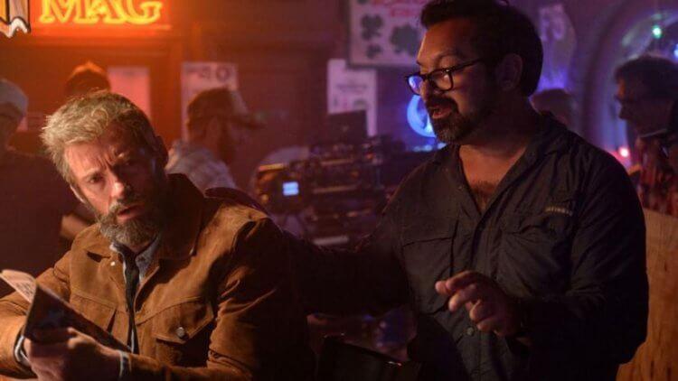 拍攝《羅根》的休傑克曼與導演詹姆士曼格。