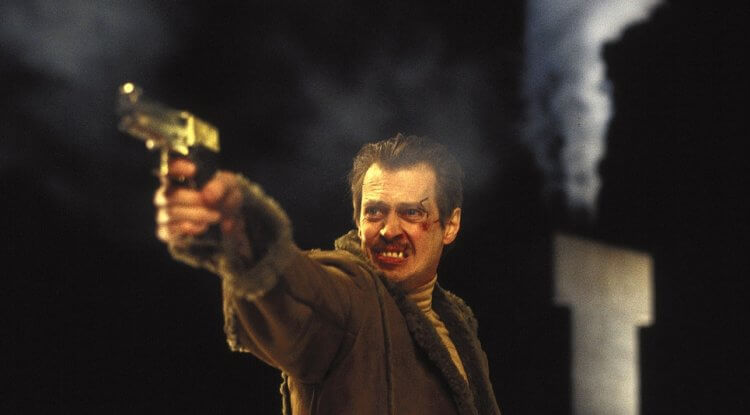 史蒂芬布希密演出 1996 年柯恩兄弟執導的《冰血暴》。