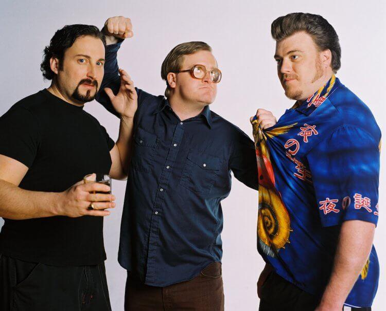 加拿大喜劇影集《拖車公園男孩》主演的三人,將網路影片《髒話網》拍成電影版。