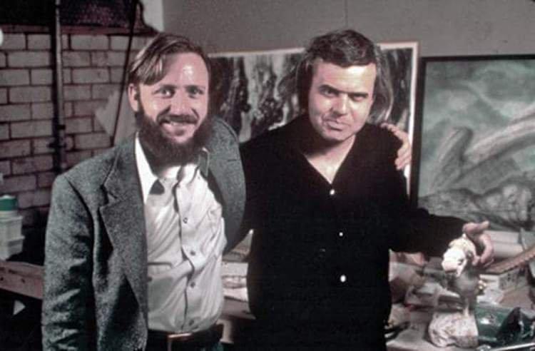 編劇 丹歐班農 與異形設計師 吉格爾。