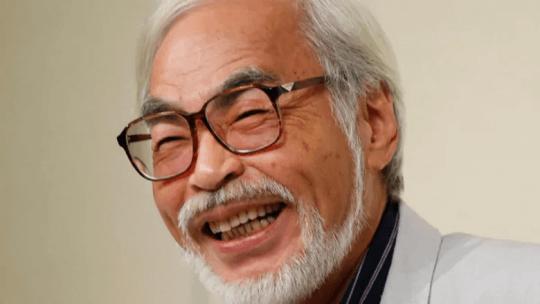 日本動畫大師「宮崎駿」。