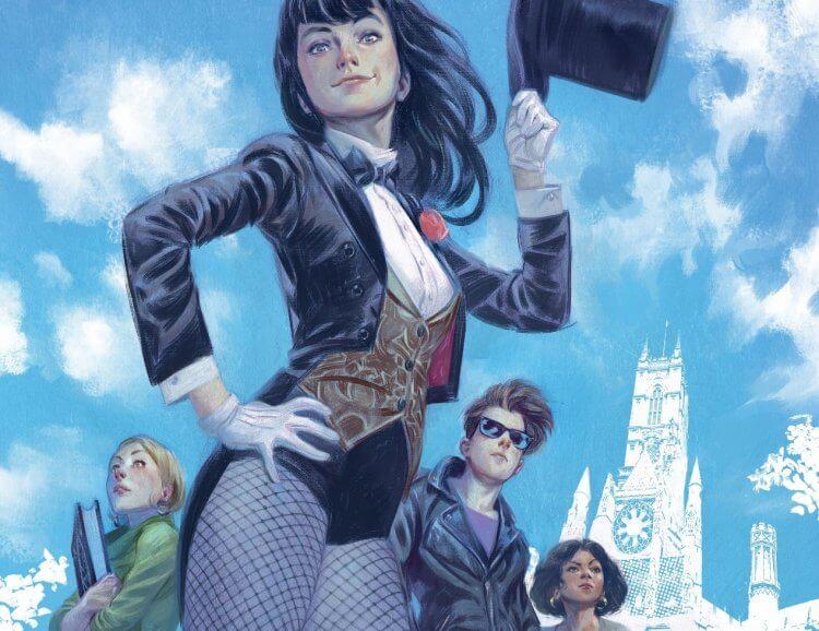 DC 宇宙中的英雄人物扎塔娜。