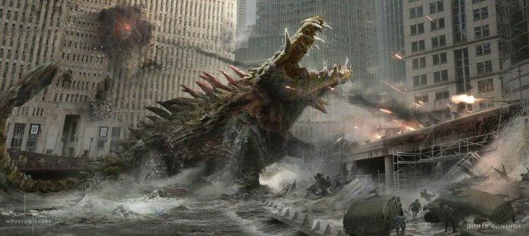 2018 年動作冒險怪獸電影《毀滅大作戰》中變種美洲鱷「莉茲」肆虐芝加哥,造成嚴重傷害。
