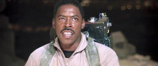 《魔鬼剋星》裡的黑人演員厄尼哈德森。