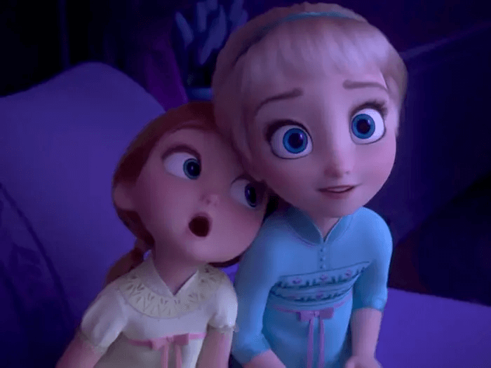 《冰雪奇緣 2》(Frozen 2) 伏筆