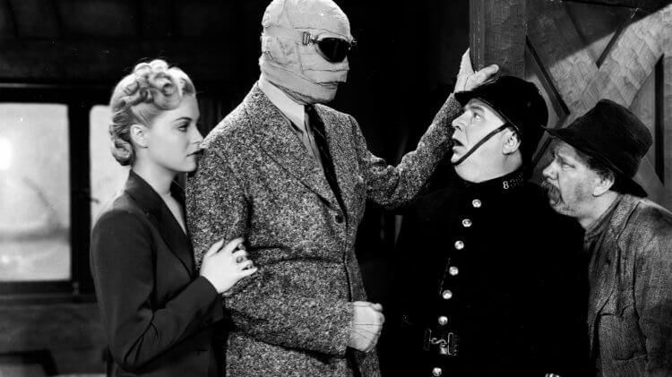 1940 年上映的《隱形人歸來》。