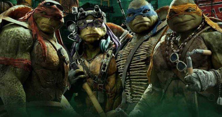 《忍者龜:變種世代》(Teenage Mutant Ninja Turtles) 劇照。
