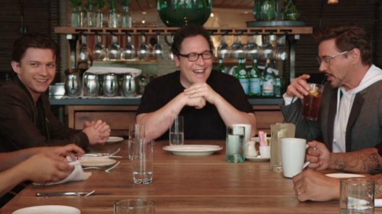 Netflix 網飛由強法夫洛主持的美食節目《主廚名人齊做菜》,漫威家族的好夥伴:「蜘蛛人」湯姆霍蘭德與「鋼鐵人」小勞勃道尼等好萊塢明星都捧場出席。