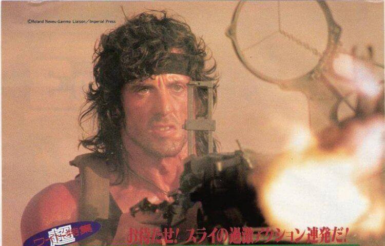 1987 年推出的《第一滴血第三集》背後是「藍波」席維斯史特龍與團隊的一場不屈戰役。