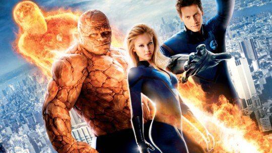 《驚奇 4 超人》電影。