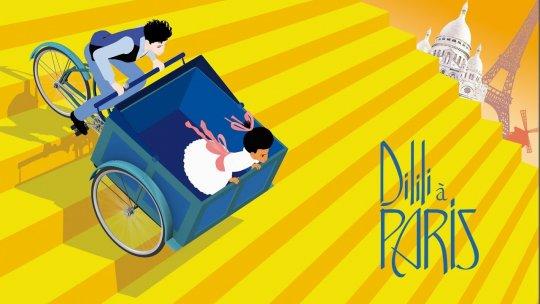 《迪莉莉的幻險巴黎》動畫電影劇照。