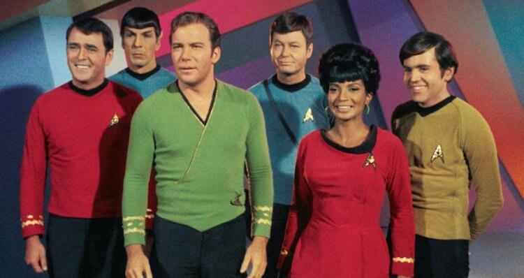 1966 年版的元祖影集《星艦迷航》。