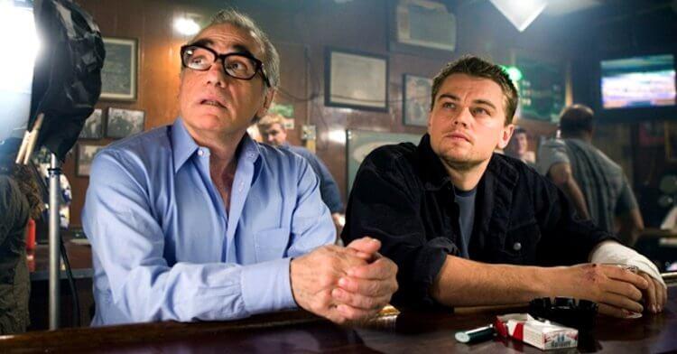 2006 年合作電影《神鬼無間》的導演馬丁史柯西斯與影星李奧納多狄卡皮歐。