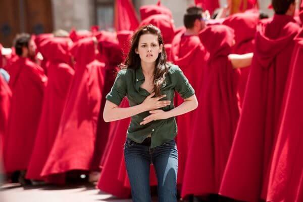當年《暮光之城 2:新月》的「暮光女」克莉絲汀史都華 (Kristen Stewart)。