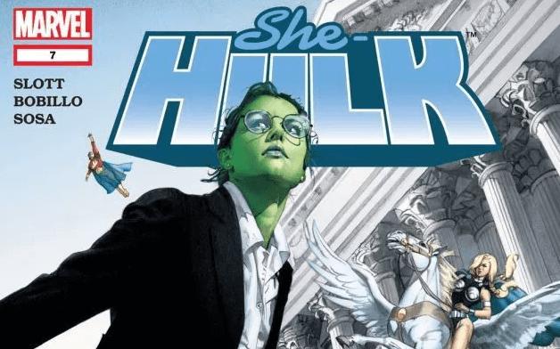 《女浩克》可以稱之為漫威的神力女超人