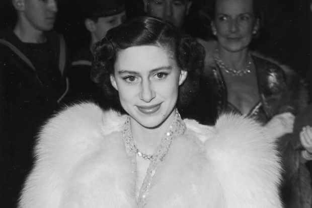 瑪格麗特公主年輕時。