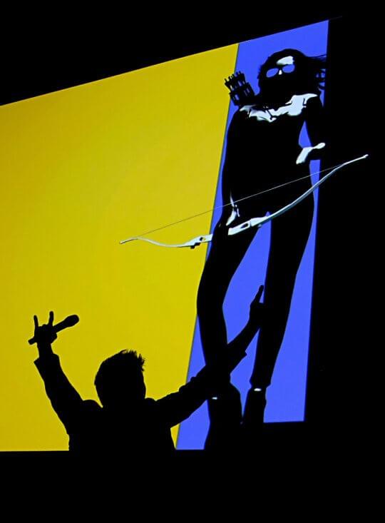 漫威在聖地牙哥動漫展 (San Diego Comic-con)上宣布將製作《鷹眼》影集