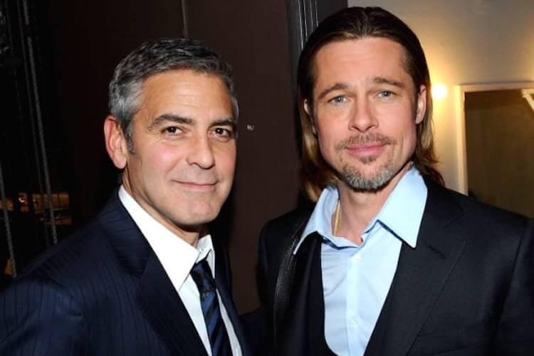 喬治克隆尼 與 布萊德彼特 (Brad Pitt)。