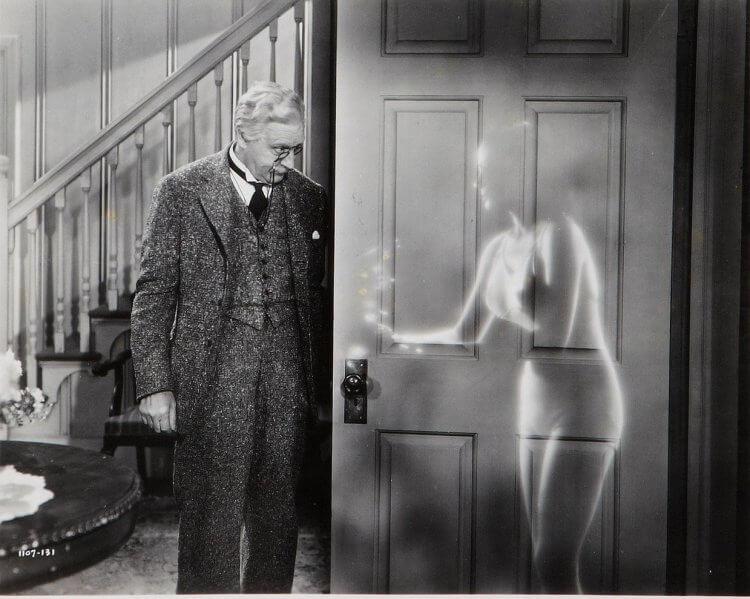 1940 年推出的第二部《隱形人》系列電影《隱形女》。