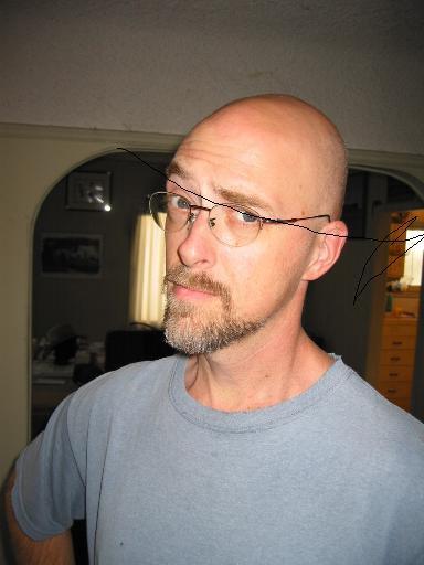 好萊塢編劇多明尼克繆爾,他表示早在《小精靈》之前他便創作了《外星通緝者》的腳本。