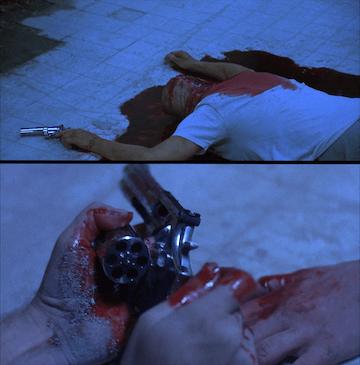 《奪魂鋸》「屍體」拿的手槍並無空彈殼
