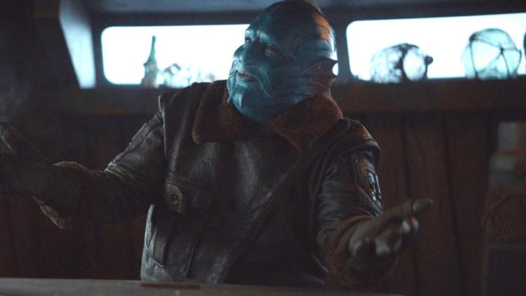 《曼達洛人》全新登場的外星物種米斯羅爾人。