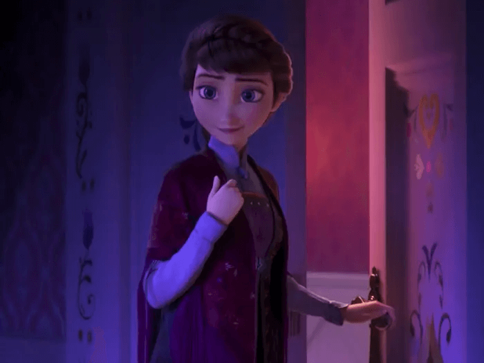 《冰雪奇緣 2》(Frozen 2) 的伊登娜皇后