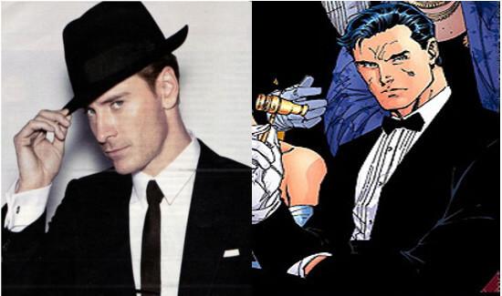 麥可法斯賓達的外型相當符合查克史奈德導演心目中對蝙蝠俠的需求。