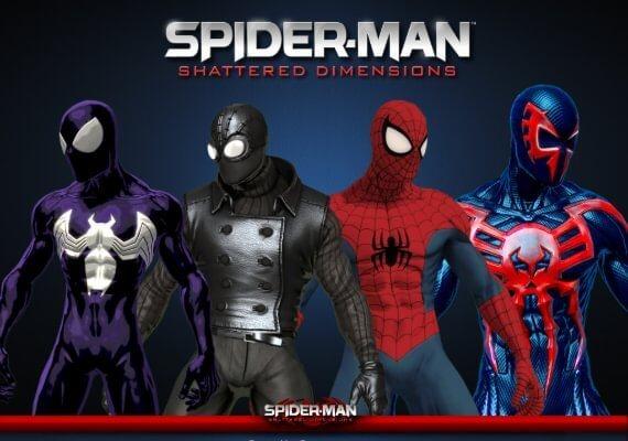 遊戲《蜘蛛人:破碎次元》可以讓玩家體驗不同宇宙中的蜘蛛人能力。