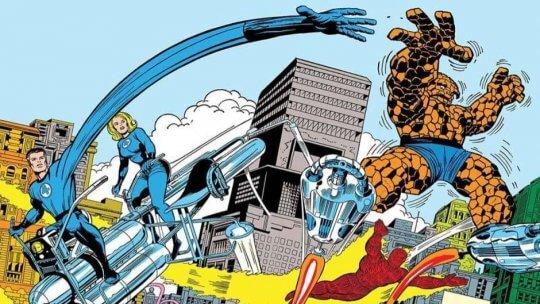 漫畫《驚奇 4 超人》。