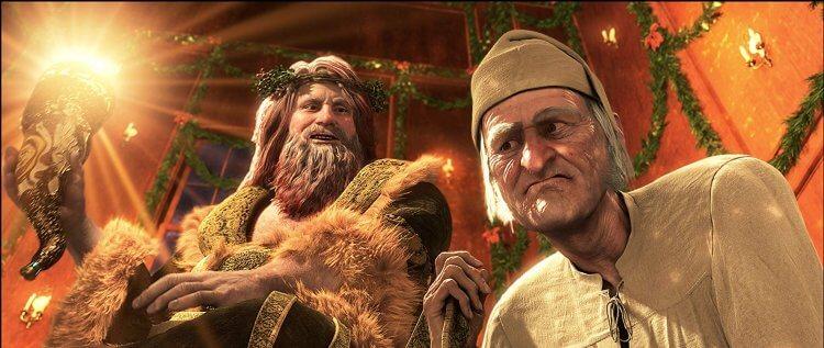 2009 年迪士尼發行的小氣財神電影《聖誕夜怪譚》。