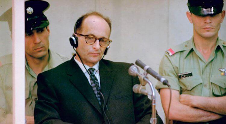 著名的納粹戰犯阿道夫艾希曼