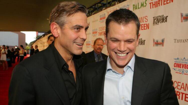 麥特戴蒙 (Matt Damon) 也是克隆尼的好友之一。