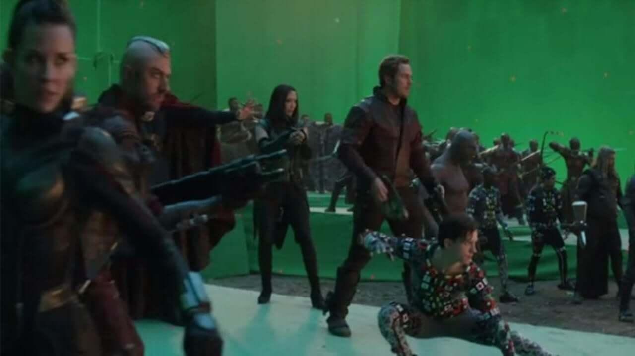 《復仇者聯盟4:終局之戰》幕後花絮。