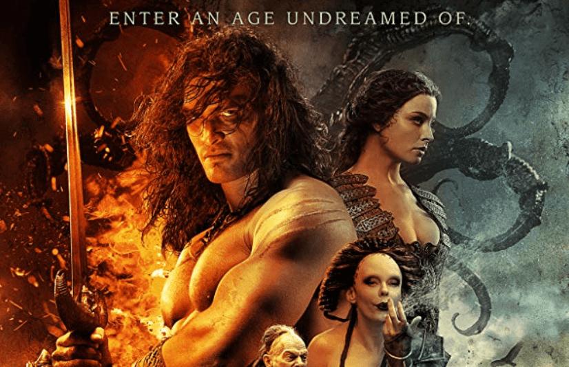 新版《王者之劍》電影宣傳照。