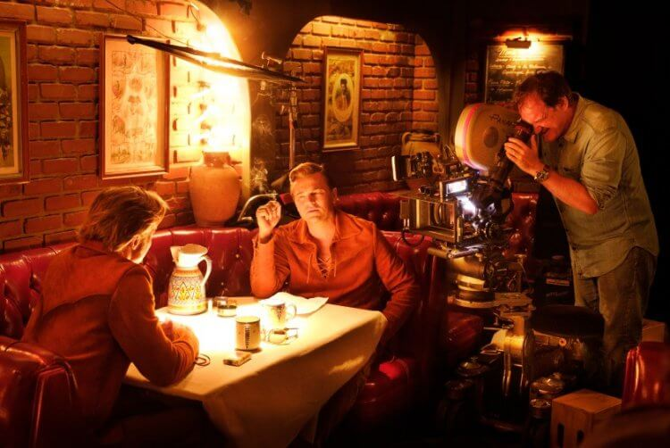 和昆汀塔倫提諾在《從前,有個好萊塢》相處愉快的布萊德彼特表示十分期待看到完整內容的「影集版」。
