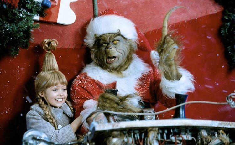 2000 年金凱瑞主演的聖誕節電影《鬼靈精》。