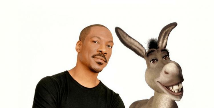 艾迪墨菲為《史瑞克》的驢子配音