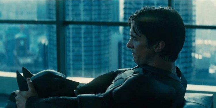 《蝙蝠俠:黑暗騎士》劇照。