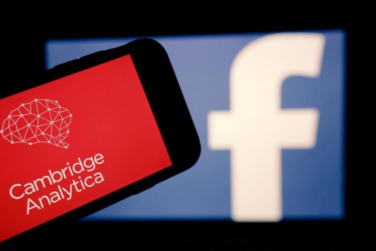 劍橋分析公司 (Cambridge Analytica) 收購 8700 萬個臉書帳戶。