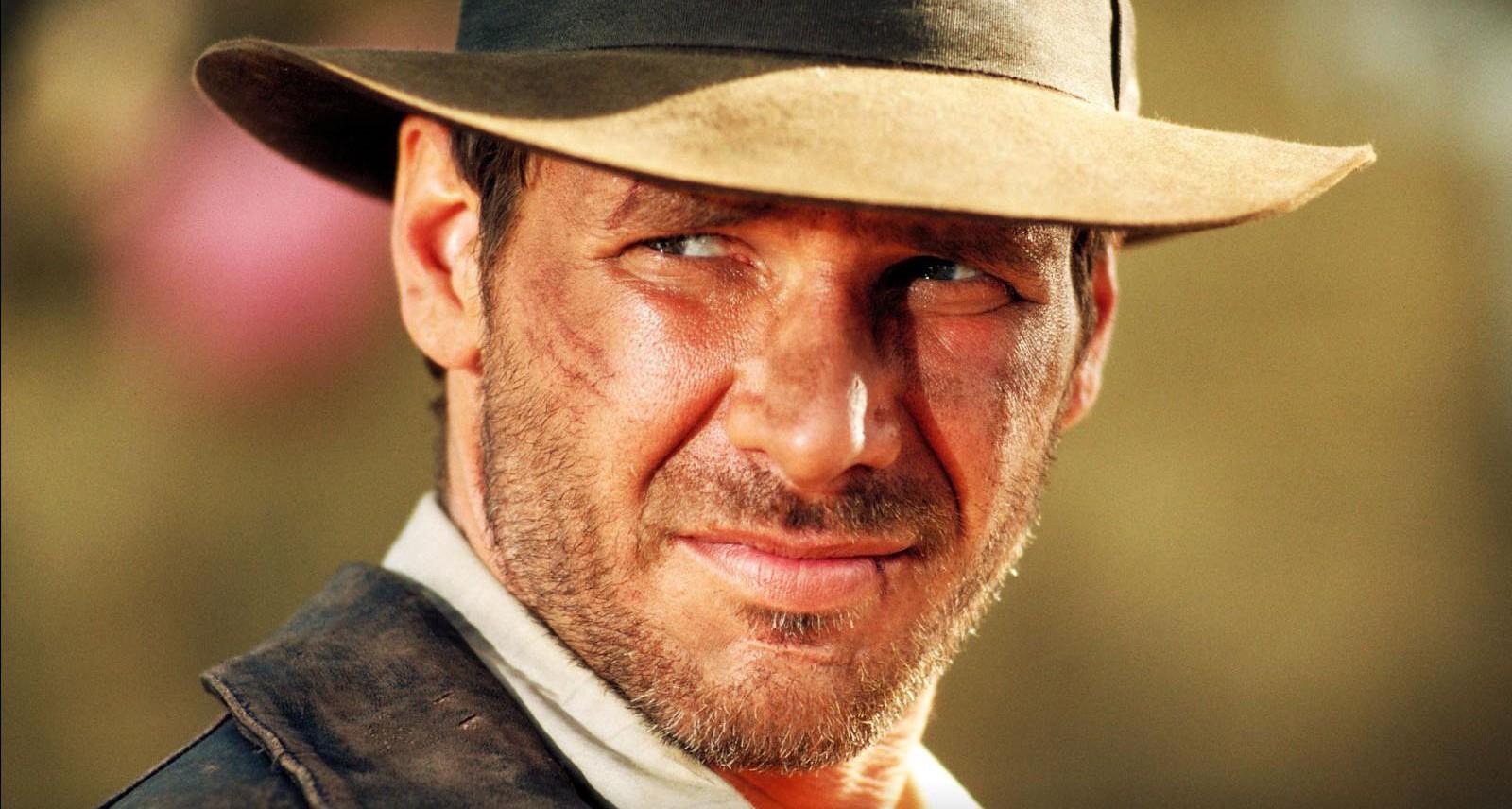 好萊塢男星哈里遜福特主演電影《法櫃奇兵》。