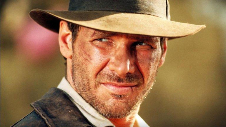 哈里遜福特 (Harrison Ford) 飾演的「印第安納瓊斯」(Indiana Jones) 博士