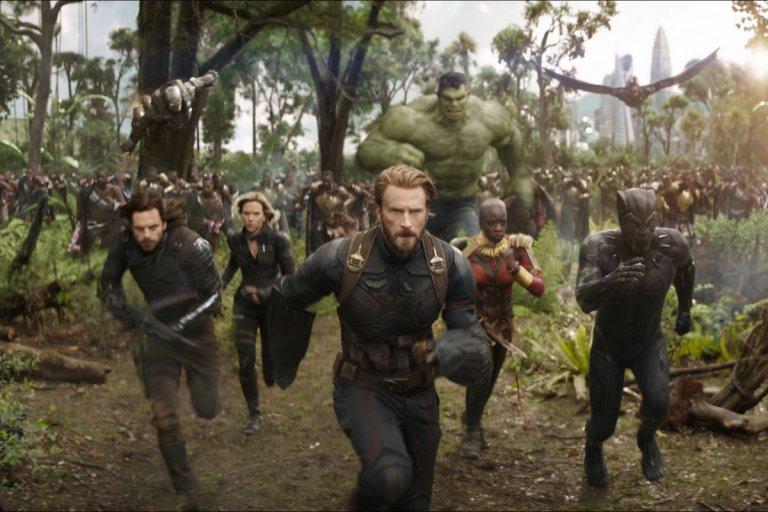 《復仇者聯盟:無限之戰》劇照。