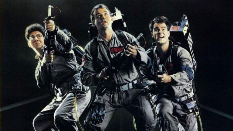 1984 年紅極一時的電影《魔鬼剋星》。