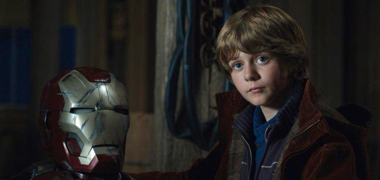 《鋼鐵人3》(Iron Men 3) 小男孩哈利。