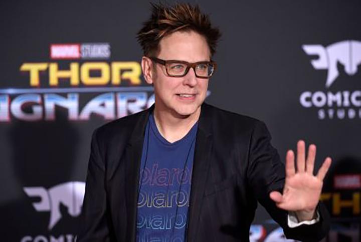 雖被辭任《 星際異攻隊 》系列導演,但 詹姆斯岡恩 已完成相關劇本。
