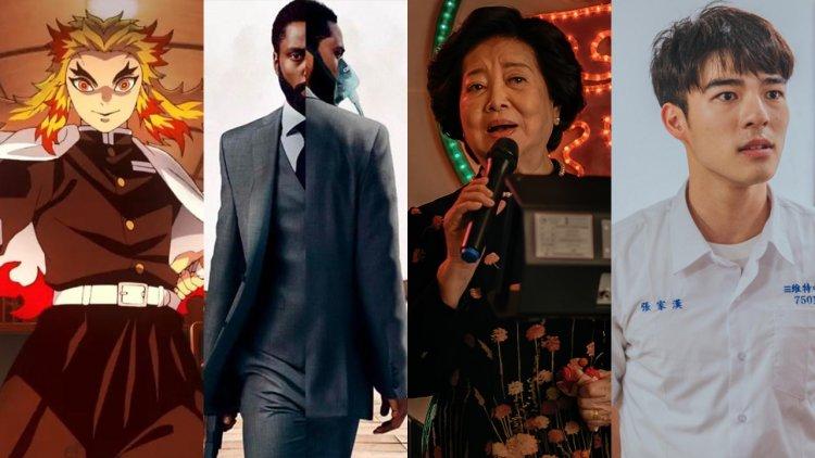 2020年 Google 熱搜關鍵字電影類排行:《鬼滅之刃劇場版》奪冠成功!《孤味》、《刻在你心底的名字》等國片上榜首圖